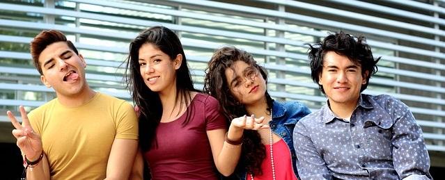 Etudiants en séjour linguistique 2017
