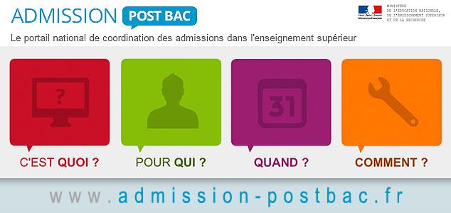 Nouveau portail APB - Admnission post bac
