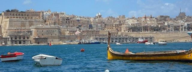 Plage � Malte