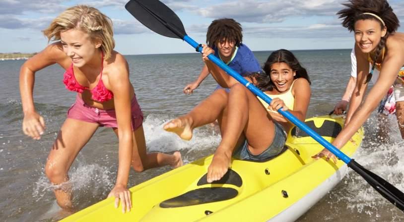 enfants-canoe.