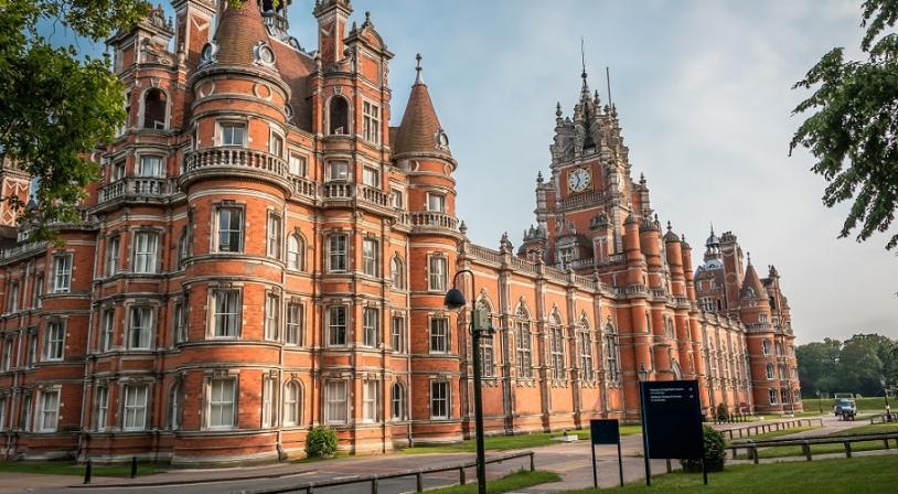 Résidence étudiante du Royal Holloway en Angleterre