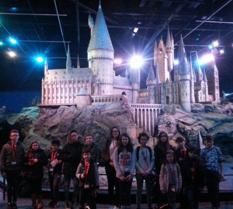 visite des studios Harry Potter