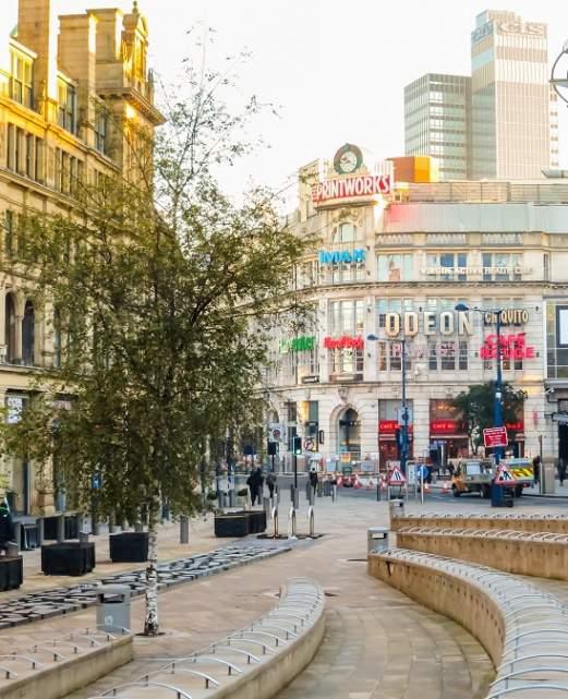 photo rue à Manchester